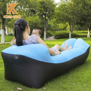 Inflatable Air Sofa Lazy Men Women Children Sleeping Bag Outdoor