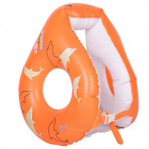 Inflatable Floating Vest Durable 8-shape Water Safety Life Buoy