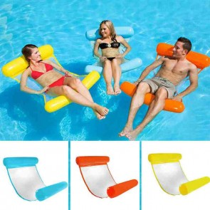 Inflatable Water Hammock Floating Bed Lounge Chair For Adults