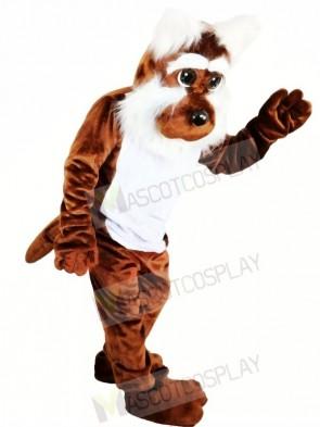 Cute Brown Dog Mascot Costumes Animal
