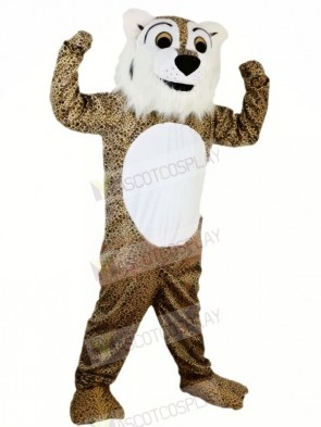 Strong Fierce Leopard Mascot Costumes Animal