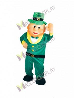 Leprechaun Irish Elf Mascot Costume