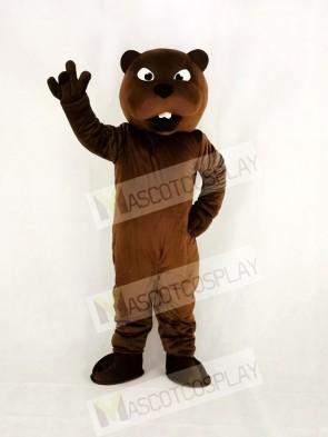 Realistic Sport Power Beaver Mascot Costume College