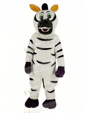 Funny Zebra Mascot Costume Animal