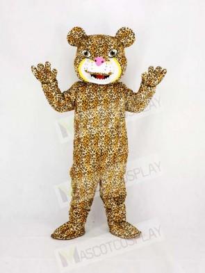 Strong Power Jaguar Mascot Costume College