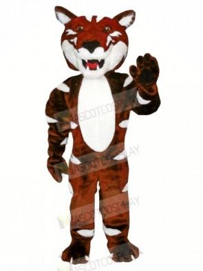 Dark Brown Wild Cat Mascot Costumes Animal