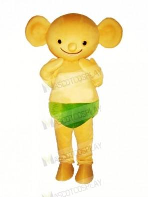 Yellow Baby Koala Mascot Costumes Cartoon