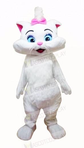 Wonderful Cat with Blue Eyes Mascot Costumes Cartoon