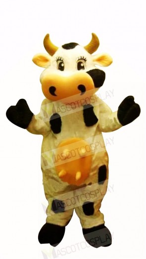 Farm Cow Mascot Costumes Cartoon