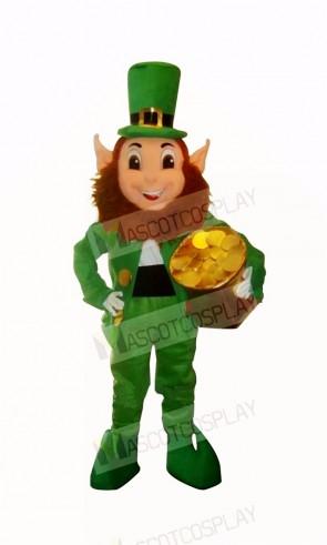 Funny Elf Goblin Leprechaun Mascot Costume Cartoon