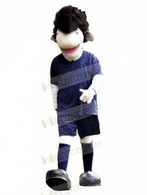 Cool Adult Eel Mascot Costume Cartoon