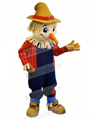 Cute Farmer Mascot Costume Cartoon