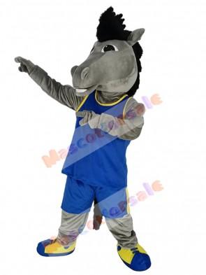 Mustang Horse mascot costume