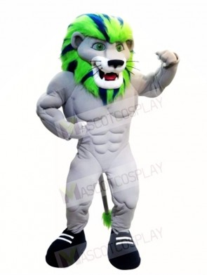 Colorful Power Lion Custom Animal Mascot Costumes