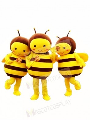 ONLY ONE Lovely Yellow Bee Mascot Costumes Insect