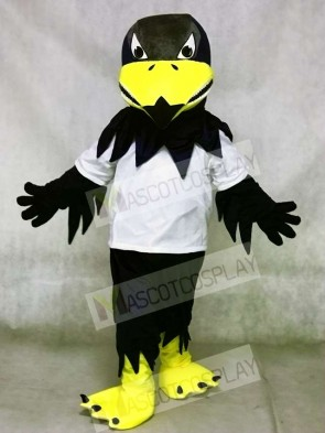 White Shirt Sport Falcon Eagle Mascot Costumes Animal