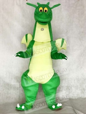 Green Dragon Mascot Costumes with Wings