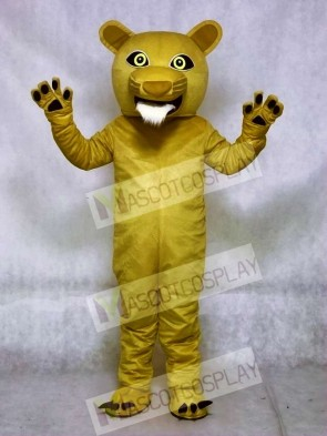 Beardless Cougar Mascot Costumes Animal