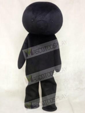 Black Bear Mascot Costumes No Ear