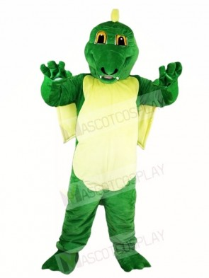Green Dinosaur Magic Dragon Mascot Costumes Animal