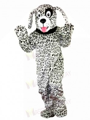 Black and White Dalmatian Dog Mascot Costumes Animal