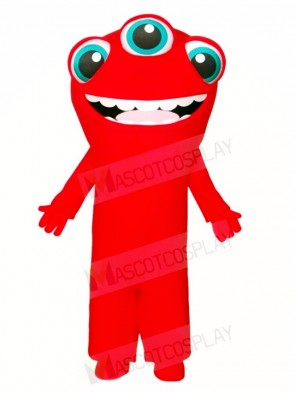 Three Eyes Monster Mascot Costumes