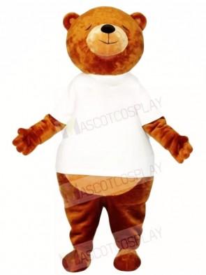 Brown Sleepy Bear Mascot Costumes Animal
