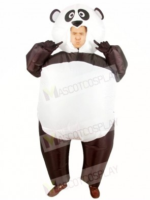 Panda Inflatable Halloween Christmas Costumes for Adults