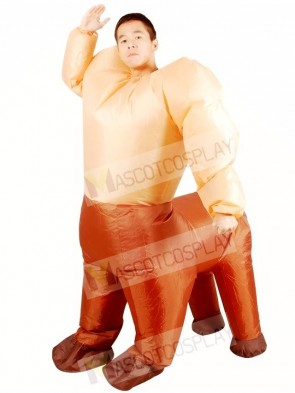 Centaur Half-man Half-horse Inflatable Halloween Christmas Holiday Costumes for Adults