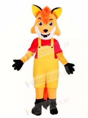 Brown Fox Mascot Costumes Animal