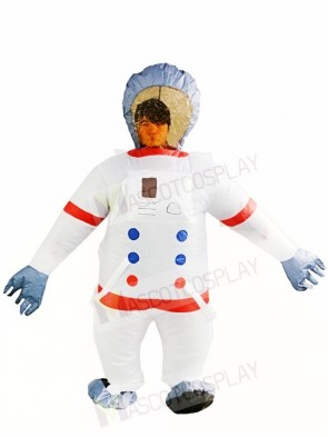Space Astronauts Inflatable Halloween Blow Up Costumes for Adults