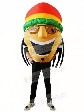 Jamaican Inflatable Halloween Xmas Blow Up Costumes for Adults