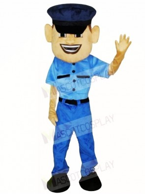 Police Man Cop Mascot Costumes People