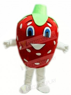 Strawberry Mascot Costumes Fruit Food Plant