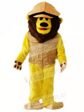 Brown Lion Mascot Costumes Animal