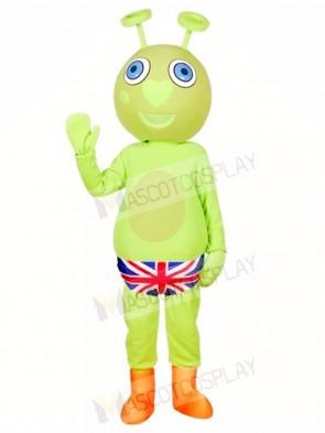 Green Alien Mascot Costumes