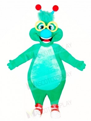 Green Alien Monster Mascot Costumes