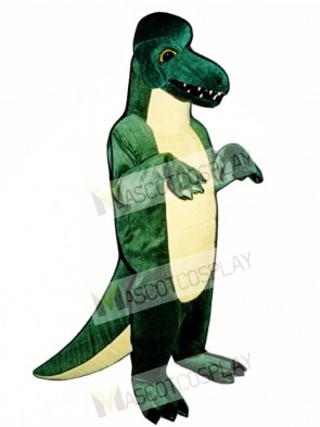Dinosaur with Crest Mascot Costume