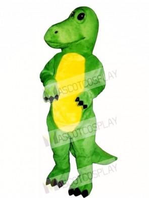 Dino Nerd Mascot Costume