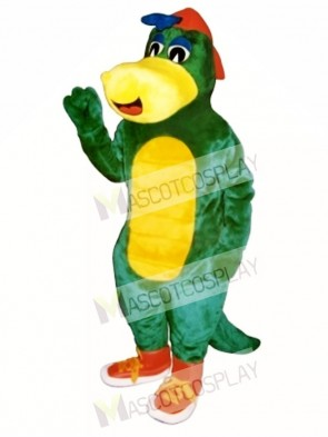 Dinosaur Jr. with Hat & Shoes Mascot Costume