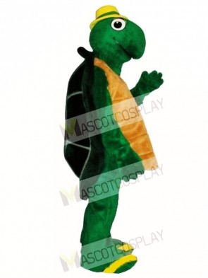 Wilbur Turtle with Hat Mascot Costume