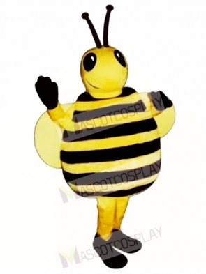 Fat Drone Bee Mascot Costume