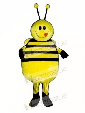 Fat Bee Mascot Costume