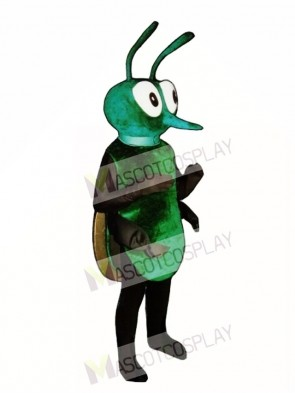 Greenie Hornet Bee Mascot Costume
