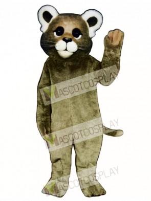 Cute Baby Cougar Mascot Costume