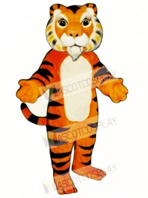 Cute India Tiger Mascot Costume