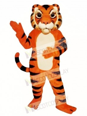 Cute Siberian Tiger Mascot Costume