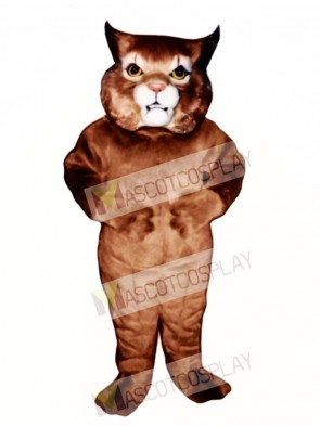 Cute Girl Wildcat Mascot Costume