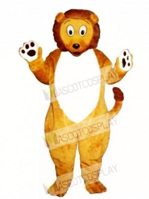Cute Little Lion Mascot Costume