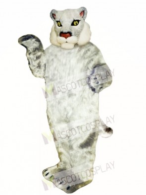 Cute Bobcat Cat Mascot Costume